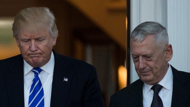 Trump wil oud-generaal 'Mad Dog' Mattis als minister van Defensie