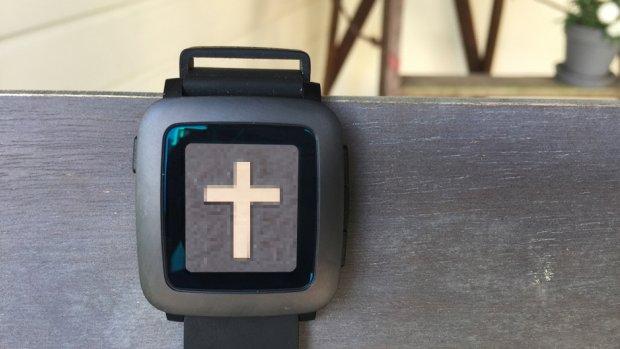 Grafrede voor mijn lieve Pebble-smartwatch