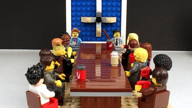 Nieuw in managementland: spelen met Lego als inspiratie