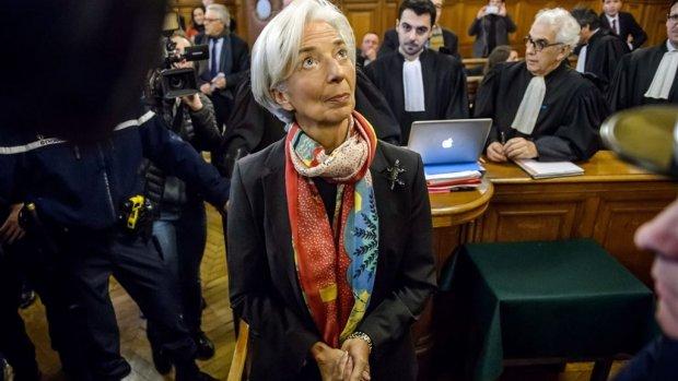 IMF-baas Lagarde veroordeeld in Franse fraudezaak