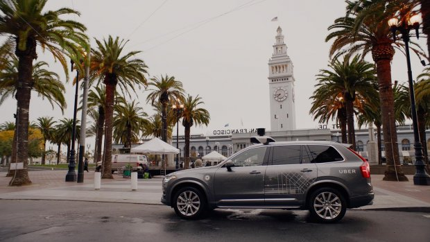 Uber ruziet over testen zelfrijdende auto's