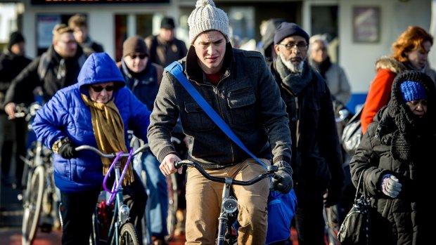 De stad slibt dicht – dus ben je veel beter af met de fiets