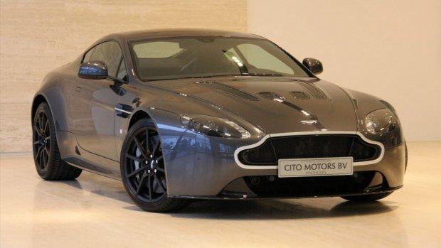 Te koop voor de liefhebber: de Aston Martin van Max Verstappen