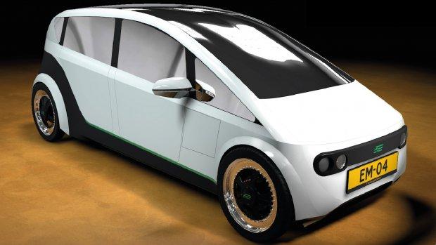 TU/e maakt auto van planten