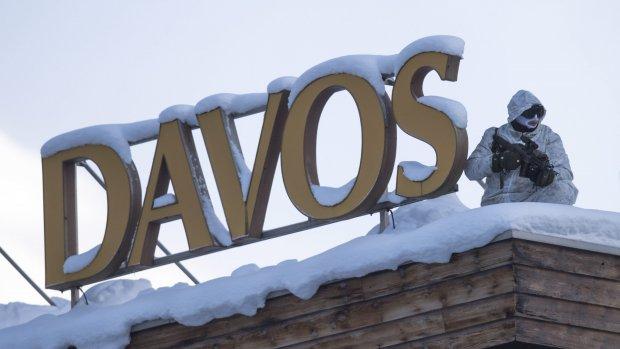 Davos 2017: de elite maakt zich zorgen over Trump, brexit