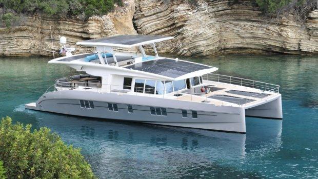 Motorboot op zonne-energie heeft 'ongelimiteerde actieradius'