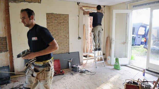 Groei in de bouw: meer bouwvakkers terug in vaste dienst