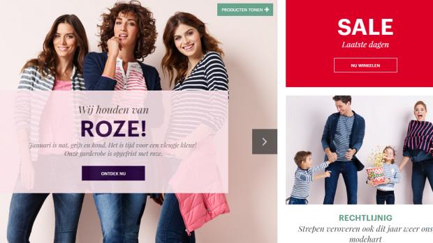 Doorstart voor modeketen Charles-Vögele onder schimmige eigenaar