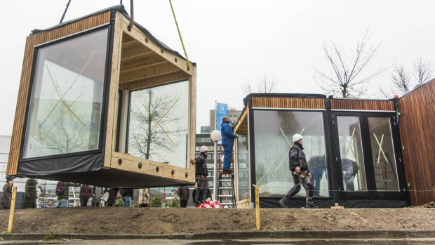 Nederlandse startup wil miljoen duurzame woningen bouwen