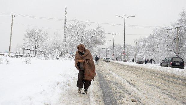 Tientallen doden door winterweer Afghanistan en Pakistan