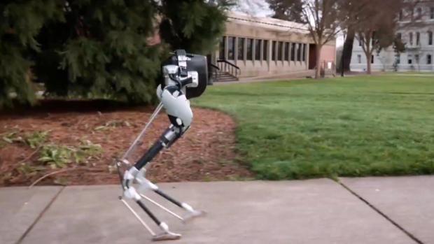 Deze robot met struisvogelpoten gaat je pakketjes bezorgen