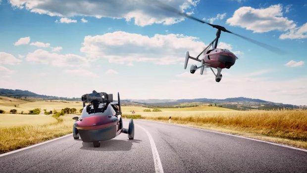 Nederlandse vliegende auto vanaf nu te koop