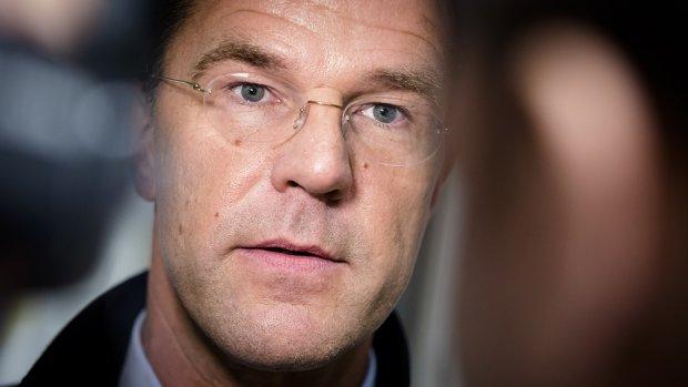 Rutte 'betreurt beslissing Trump'