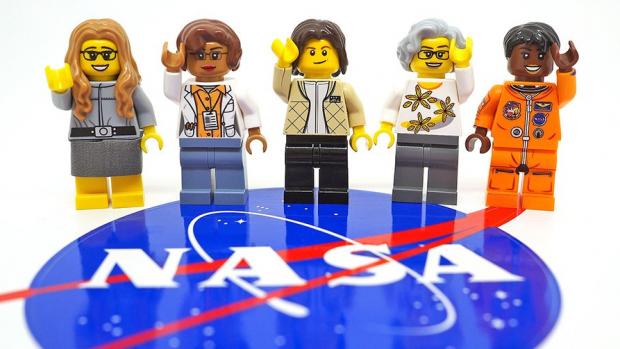 Nieuwste Legopoppetjes zijn vrouwelijke NASA-helden