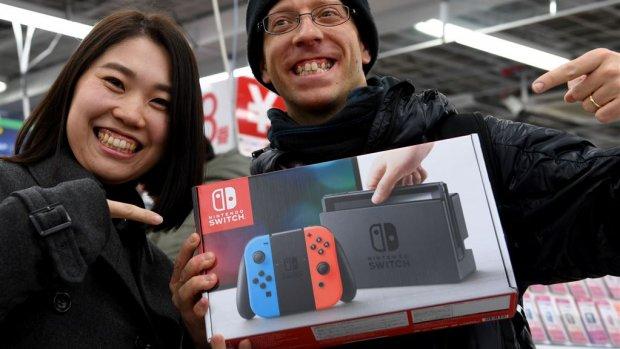 'Nintendo verdubbelt productie Switch'