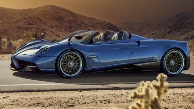 Deze waanzinnige Pagani Huayra Roadster is al uitverkocht