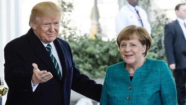 'Trump schoof Merkel rekening NAVO toe'