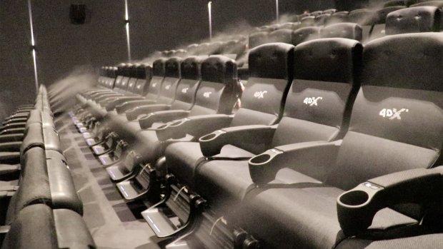 Pathé opent 4D-bioscopen met geur en beweging in Nederland