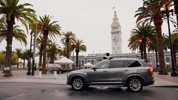 Uber stopt test met zelfrijdende auto's na ongeluk