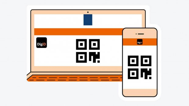 Met de DigiD-app kun je inloggen zonder wachtwoord of sms