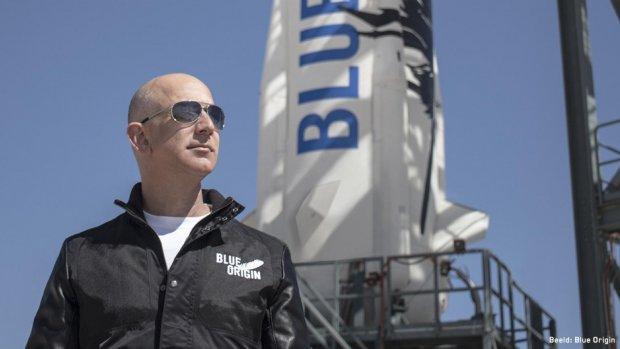 Bezos' ruimtevluchten kosten 2 ton (en dat is nog te weinig)
