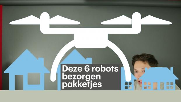 Video: deze 6 robots bezorgen nu al pakketjes
