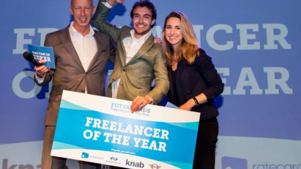 Boris Lange is zzp'er van het jaar: de 'viral king van Nederland'