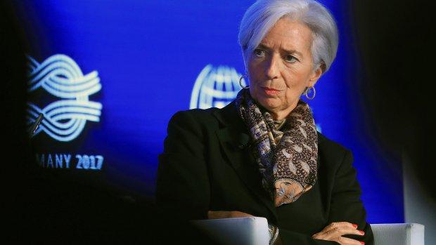 Christine Lagarde: 'De economische taart moet groter'