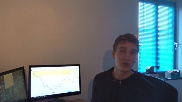 Rob legt even uit hoe day-traden op de beurs werkt