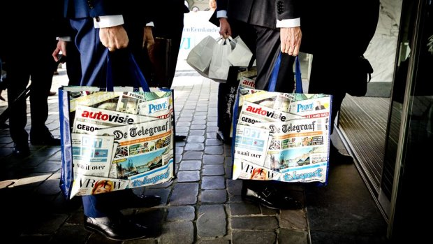 Mediahuis wil TMG ook  'inclusief De Mol', bestuurders afgekocht