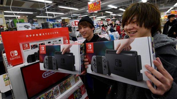 Goed verkopende Switch stuwt resultaten Nintendo omhoog