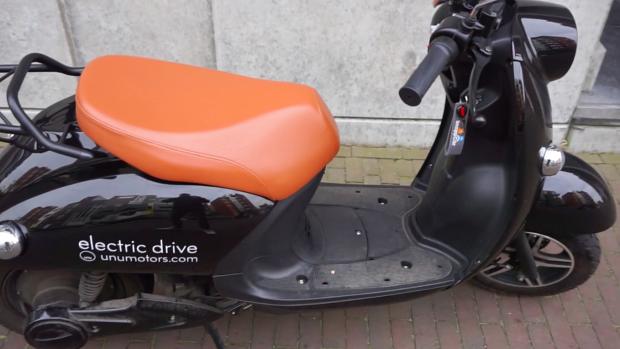 Eerste indruk: elektrische scooter UNU voor de stad