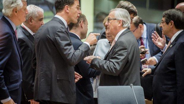 Europese leiders unaniem over voorwaarden brexit-onderhandelingen
