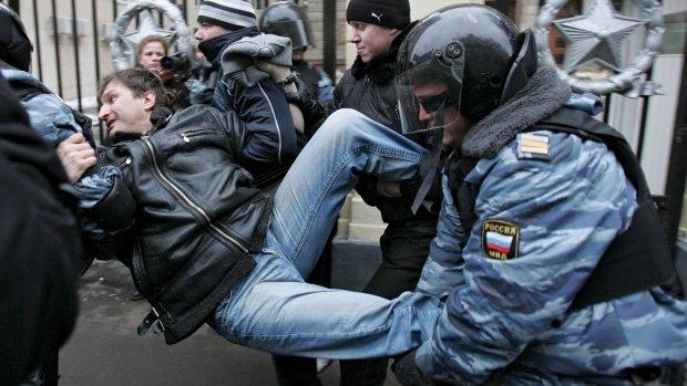 'Rode Knop'-app moet Russische demonstranten beschermen
