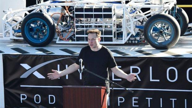 Musk: 'De Hyperloop was een soort van hobbydingetje'