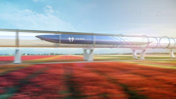 BAM bouwt mee aan eerste Europese hyperloopbaan in Delft