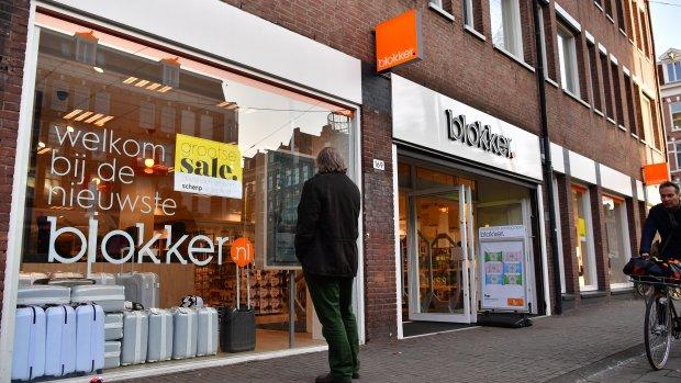 Blokker sluit honderden winkels: 1900 banen weg