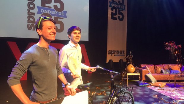 Oprichters BitSensor benoemd tot jonge ondernemers van het jaar