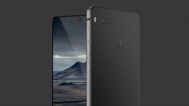 'Nieuwe Essential Phone van de baan'