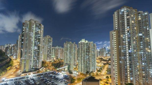 Parkeerplaats in Hongkong verkocht voor 6 ton