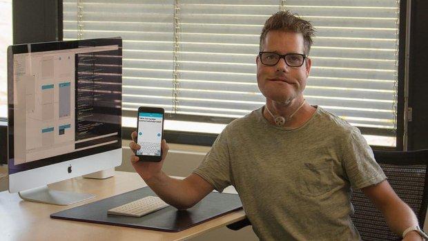Nederlander met spraakgebrek maakt handige spraak-app
