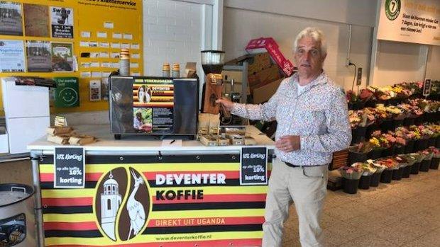 Groep ondernemers komt met lokale en 'eerlijke' Deventer Koffie