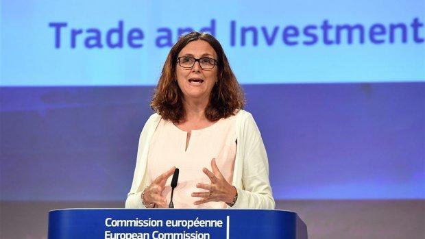 Malmström: Plaag van protectionisme bedreigt wereldhandel