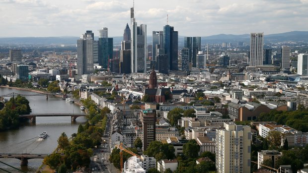 Frankfurt wint slag om bedrijven die Londen verlaten om brexit