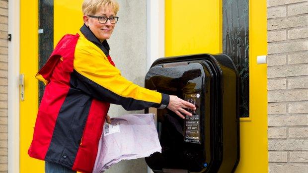 Hoppa! Slimme brievenbus maakt wachten op pakketje overbodig