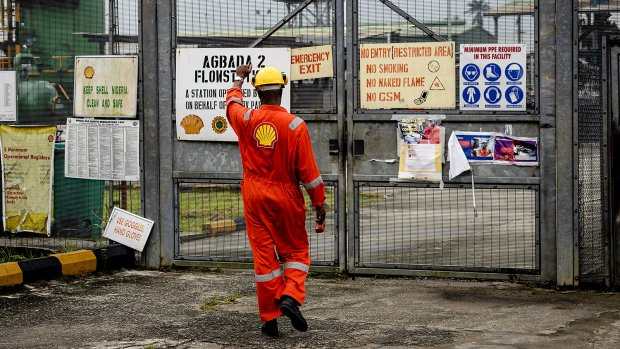 Nigeriaanse weduwen klagen Shell aan