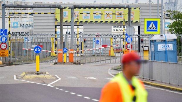 Maersk opent terminals weer maar is hack nog niet te boven