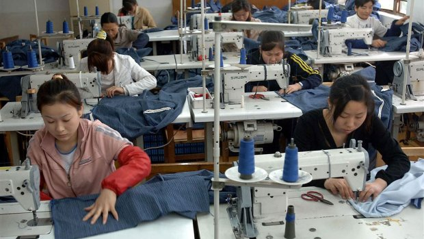 Nagaan waar je kleding wordt gemaakt