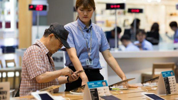 Samsung op weg naar recordwinst, lijkt Apple in te halen