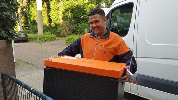 PostNL gaat ook in België eten bezorgen aan huis